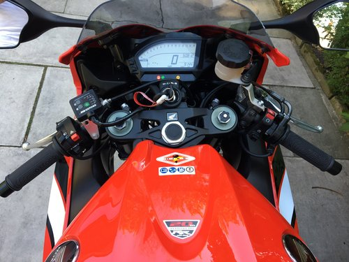 2012 Honda CBR 1000 RR Fireblade 20th Anniversary Edition, 9150m SOLD (picture 5 of 6)