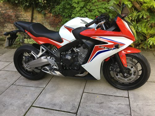 2014 Honda CBR650F ABS, 4125 miles, Immaculate  SOLD (picture 1 of 6)