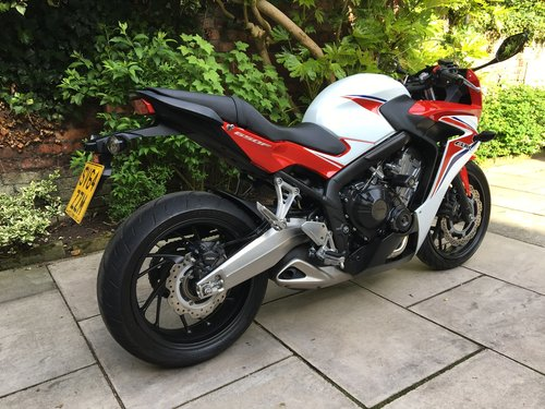 2014 Honda CBR650F ABS, 4125 miles, Immaculate  SOLD (picture 2 of 6)