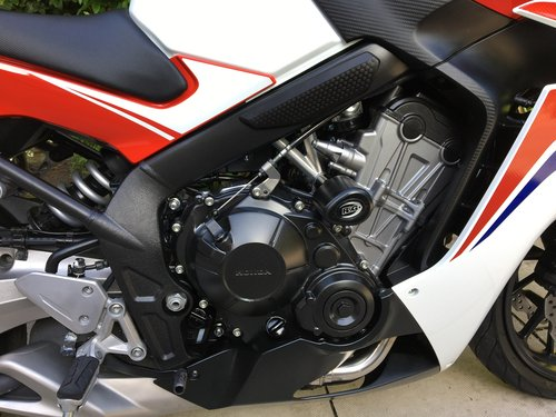 2014 Honda CBR650F ABS, 4125 miles, Immaculate  SOLD (picture 4 of 6)