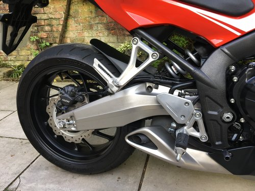 2014 Honda CBR650F ABS, 4125 miles, Immaculate  SOLD (picture 6 of 6)