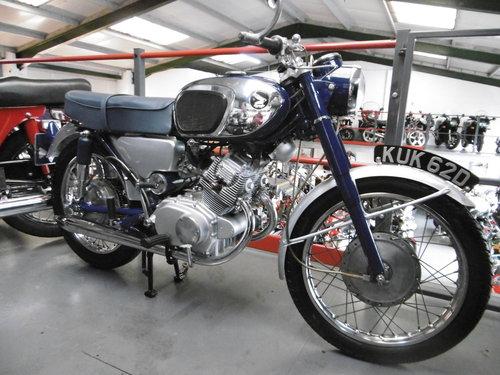 1966 Honda CB160 Stunning original condition UK bike  SOLD (picture 1 of 6)