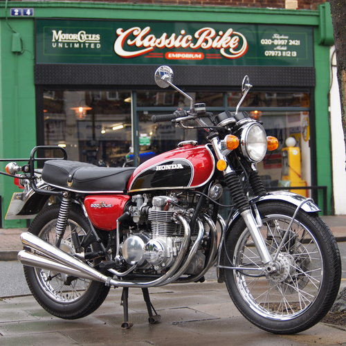 1972 Classic Early CB500-4     SOLD TO RICHARD. SOLD (picture 2 of 6)