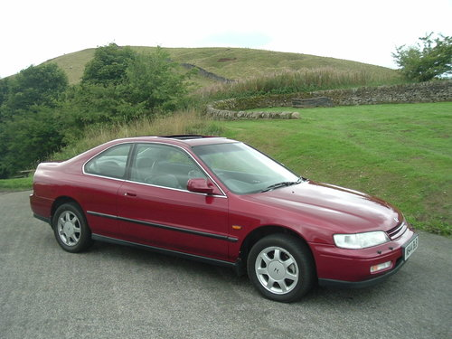 1994 94/M Honda Accord 2.2 Coupe. Manual. 92000 Miles, Demo + 1. For Sale (picture 1 of 6)