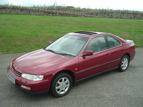 1994 94/M Honda Accord 2.2 Coupe. Manual. 92000 Miles, Demo + 1. For Sale (picture 2 of 6)