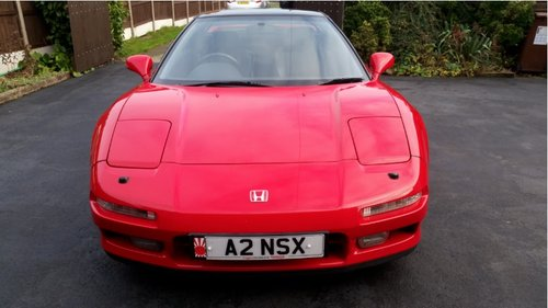 HONDA NSX 1992, 5 speed manual, UK FROM NEW SOLD (picture 3 of 6)