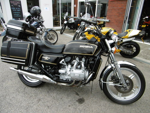 1979 Honda Goldwing GL1000 Very original great condition  SOLD (picture 1 of 6)
