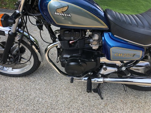 1982 CM250T Restored For Sale (picture 6 of 6)