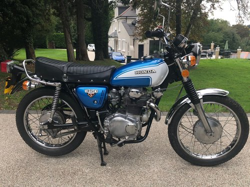 1973 CL350 Superb original bike only 3,700 miles !! For Sale (picture 2 of 6)