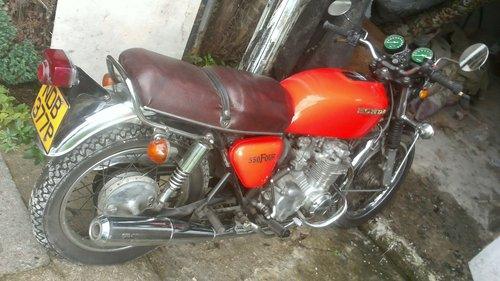1976 motor cycle For Sale (picture 1 of 1)