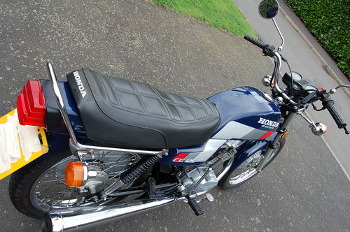 Honda CG125  1991  VGC low Miles  Tax  & MOT SOLD (picture 4 of 6)