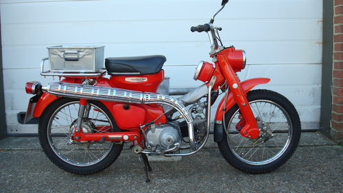 Honda CT90 K0 1968-F ***1555 MILES*** SOLD (picture 1 of 6)