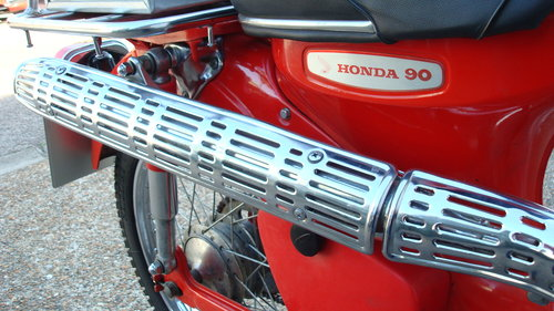 Honda CT90 K0 1968-F ***1555 MILES*** SOLD (picture 4 of 6)