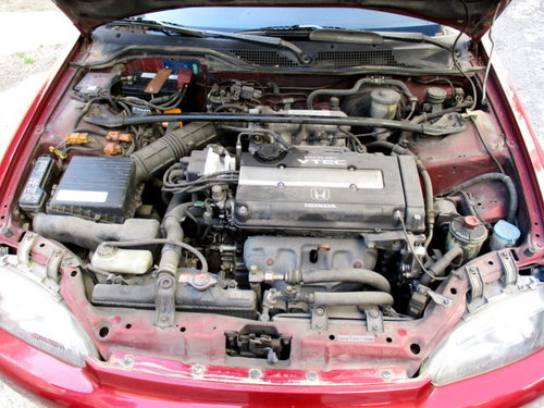 HONDA CIVIC VTI 1.6 4D (1994)  160 hp 1600CC engine For Sale (picture 5 of 6)