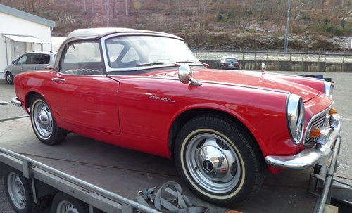 1966 Beautiful and rare Honda S600 convertible For Sale (picture 2 of 6)