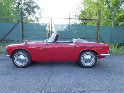 1966 Beautiful and rare Honda S600 convertible For Sale (picture 3 of 6)