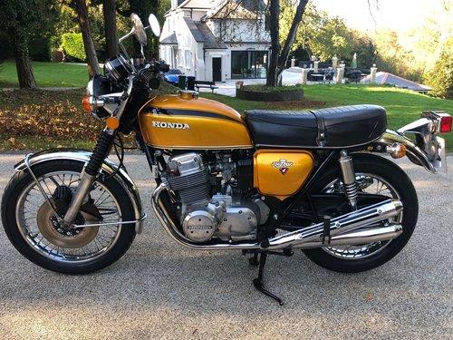 1975 CB750K2 Rare UK bike SOLD (picture 1 of 6)