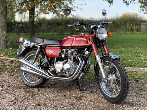 Honda CB350 Four 1973 Fully Restored  SOLD (picture 1 of 6)