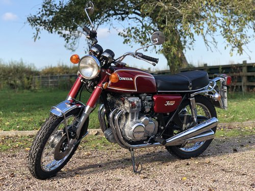 Honda CB350 Four 1973 Fully Restored  SOLD (picture 2 of 6)