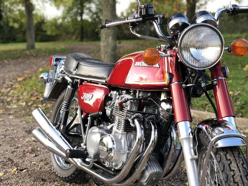 Honda CB350 Four 1973 Fully Restored  SOLD (picture 3 of 6)