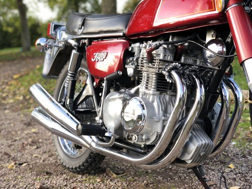 Honda CB350 Four 1973 Fully Restored  SOLD (picture 4 of 6)