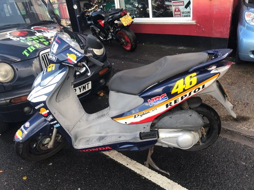 Honda SES Dylan 125cc 2003 Plate For Sale (picture 1 of 6)