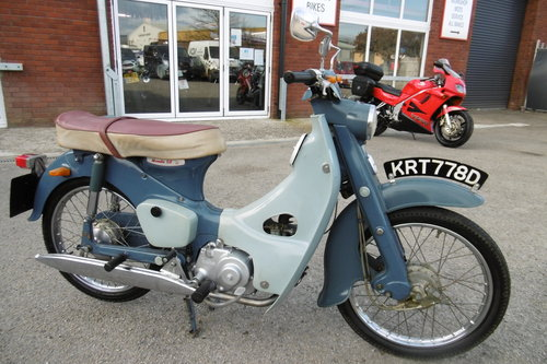 1966 Very original un-restored moped rare C100 SOLD (picture 1 of 6)