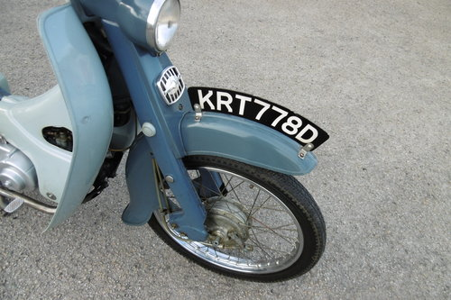 1966 Very original un-restored moped rare C100 SOLD (picture 4 of 6)