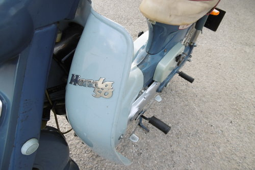 1966 Very original un-restored moped rare C100 SOLD (picture 5 of 6)