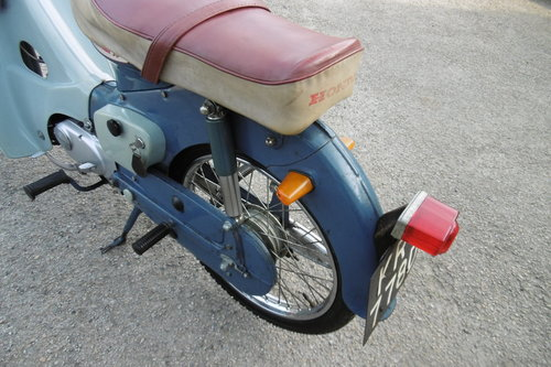 1966 Very original un-restored moped rare C100 SOLD (picture 6 of 6)