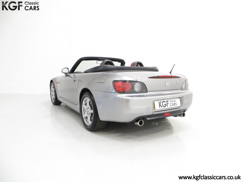 An Exhilarating Honda S2000 AP1 with 16,265 Miles. SOLD (picture 4 of 6)