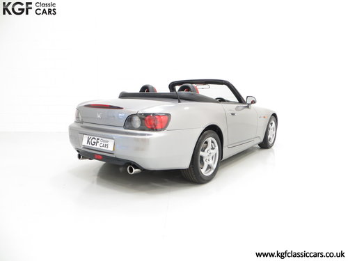 An Exhilarating Honda S2000 AP1 with 16,265 Miles. SOLD (picture 5 of 6)