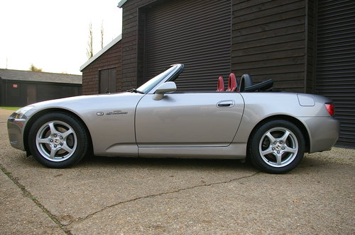 2003 Honda S2000 2.0 16V VTEC Roadster Manual (48,000 miles) SOLD (picture 2 of 6)