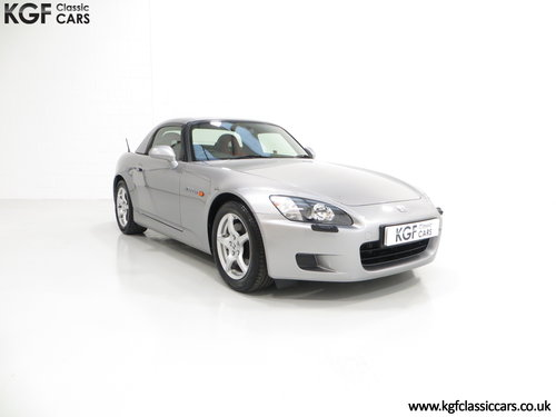2001 A Preserved Honda S2000 AP1 with 19,989 Miles. SOLD (picture 1 of 6)