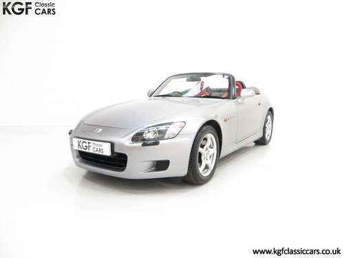 2001 A Preserved Honda S2000 AP1 with 19,989 Miles. SOLD (picture 2 of 6)