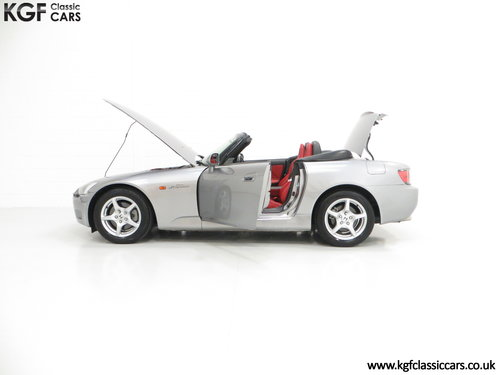2001 A Preserved Honda S2000 AP1 with 19,989 Miles. SOLD (picture 3 of 6)
