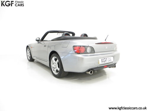 2001 A Preserved Honda S2000 AP1 with 19,989 Miles. SOLD (picture 4 of 6)