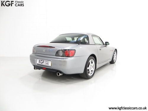 2001 A Preserved Honda S2000 AP1 with 19,989 Miles. SOLD (picture 5 of 6)