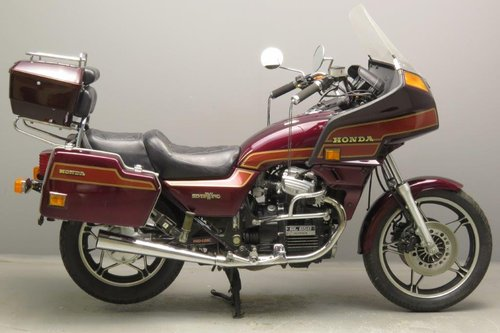Honda 1984 673cc Silverwing SOLD (picture 1 of 6)