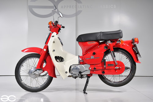 1979 Absolutely Stunning Honda C90 in Show Condition - 4K Miles SOLD (picture 1 of 6)