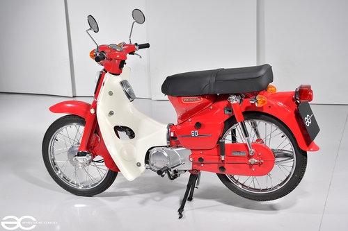 1979 Absolutely Stunning Honda C90 in Show Condition - 4K Miles SOLD (picture 2 of 6)