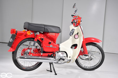 1979 Absolutely Stunning Honda C90 in Show Condition - 4K Miles SOLD (picture 3 of 6)