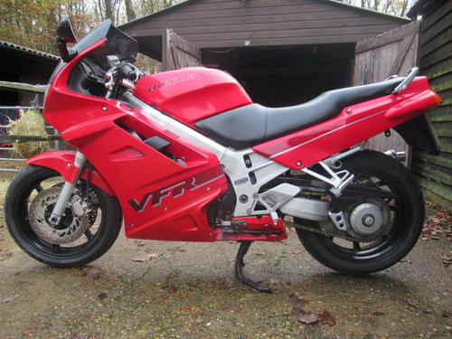 HONDA VFR 750 1993/K ONLY 24,500 MILES VGC For Sale (picture 5 of 6)