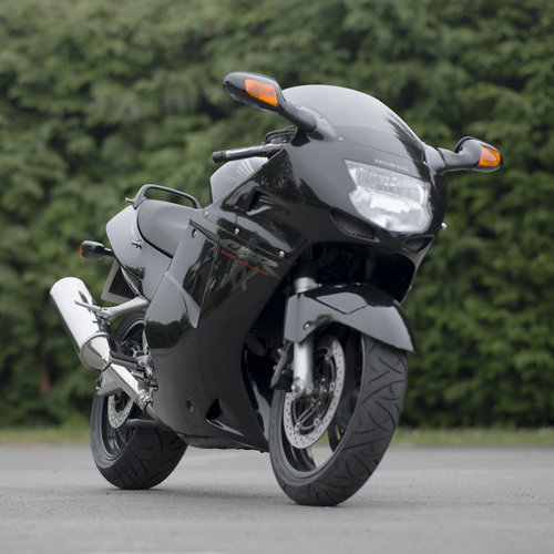 1998 Black Honda Super Blackbird CBR1100XX For Sale