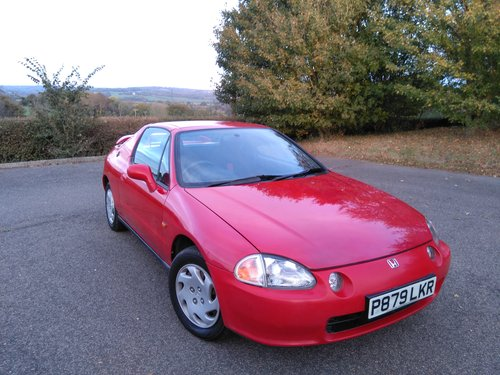1997 1 Family owner from new CRX Del Sol SOLD SOLD SOLD SOLD (picture 1 of 6)