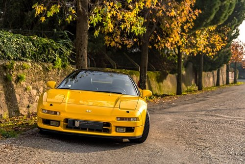 lhd 1993 Honda NSX  1 of 10 Yellow units produced for Europe SOLD (picture 1 of 6)