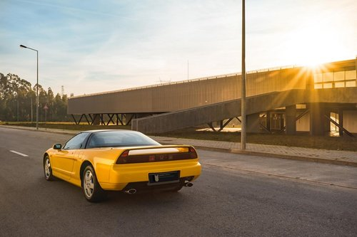 lhd 1993 Honda NSX  1 of 10 Yellow units produced for Europe SOLD (picture 2 of 6)