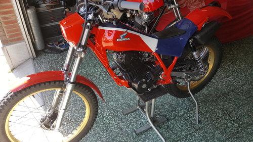 1985 HONDA TLR250 Trials, full restoration For Sale (picture 5 of 6)