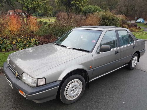 1989 HONDA ACCORD 2.0 EX .4 DOOR ONLY 66,000 MILES For Sale (picture 1 of 6)