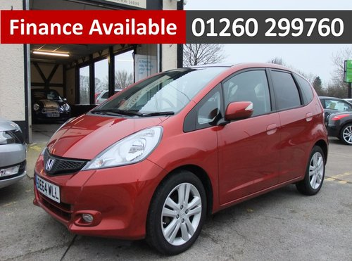 2014 HONDA JAZZ 1.3 I-VTEC EX 5DR CVT AUTOMATIC SOLD (picture 1 of 6)